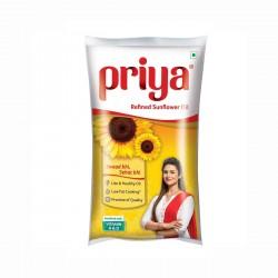 Priya sunflower oil 1ltr
