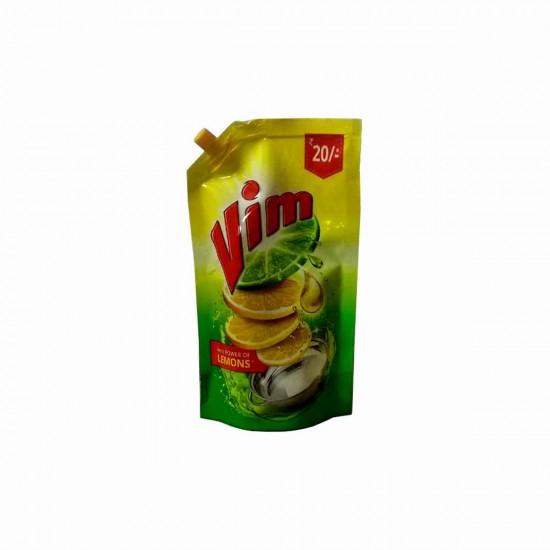 Vim Dish Wash Gel, Lemon, 155 ml